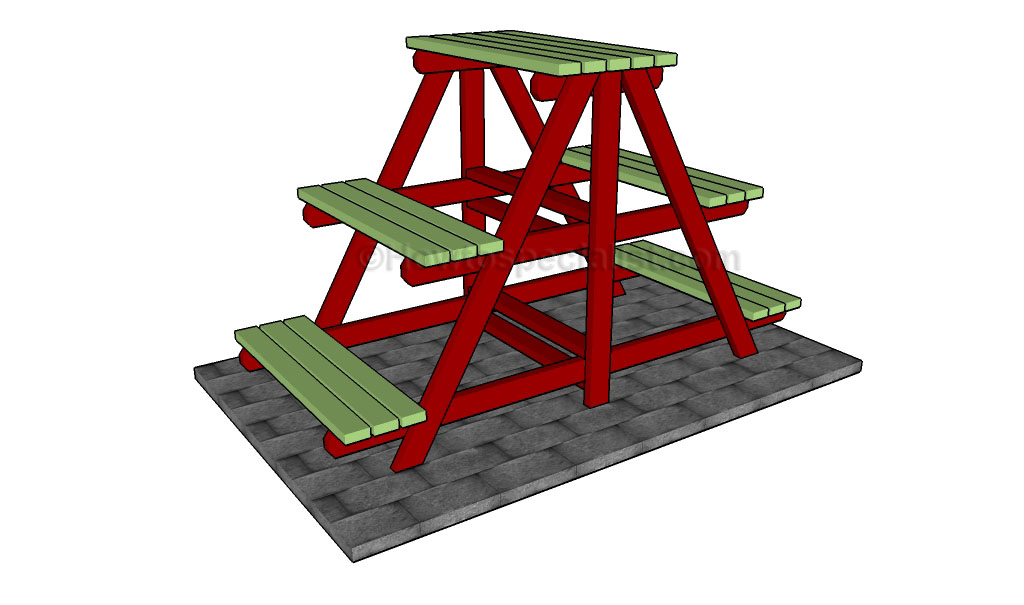 A-frame plant stand plans