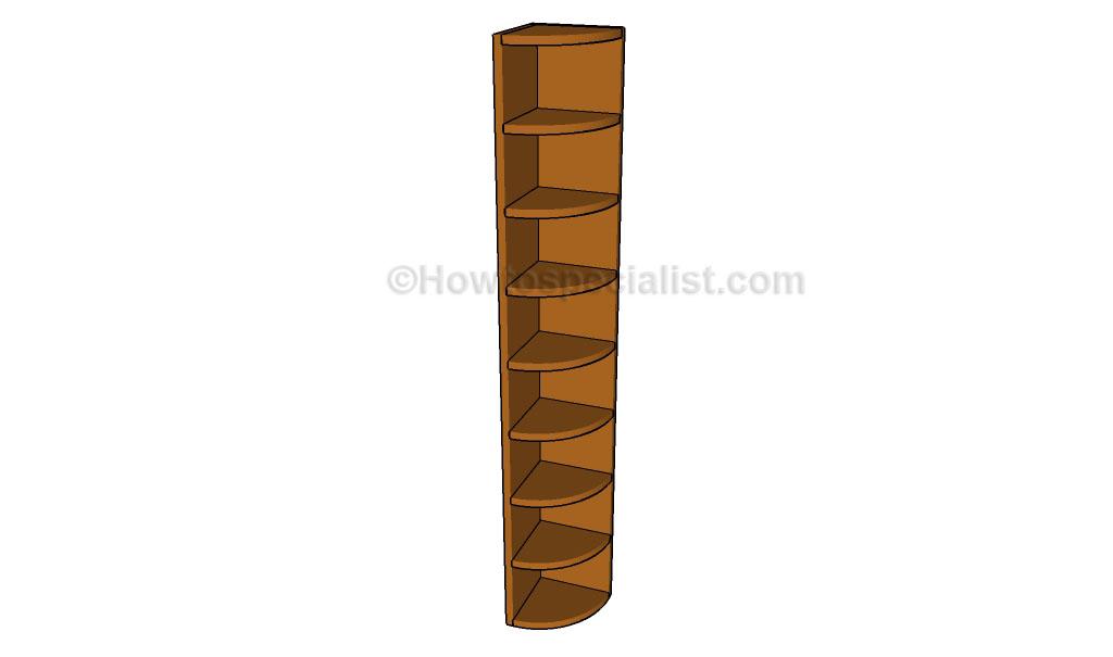 Corner Shelf Plans | HowToSpecialist - How to Build, Step ...
