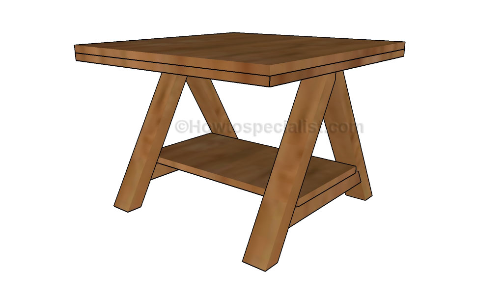 diy side table plans howtospecialist how to build