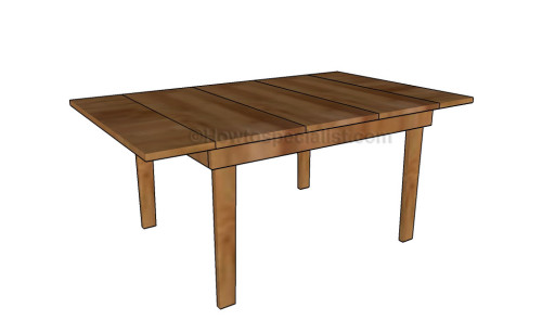 Drop-leaf table plans