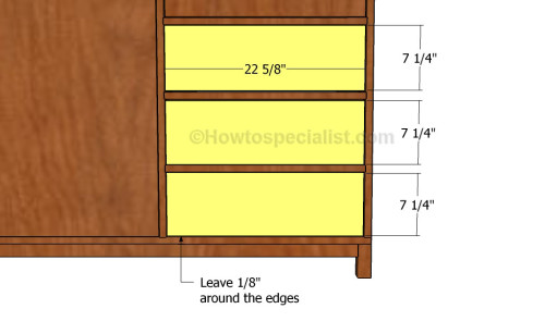 Fit the drawers