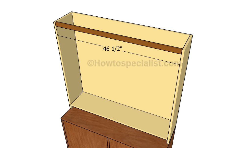 office desk hutch plan. Office Desk Hutch Plan Fitting The Top Support