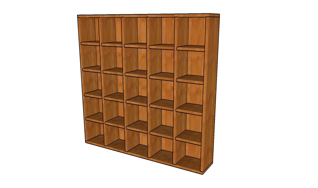 Wood Bookcase Plans
