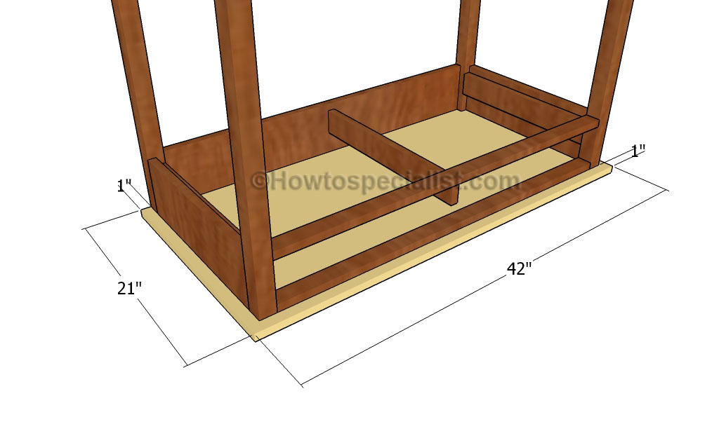 how to build a computer desk step by step