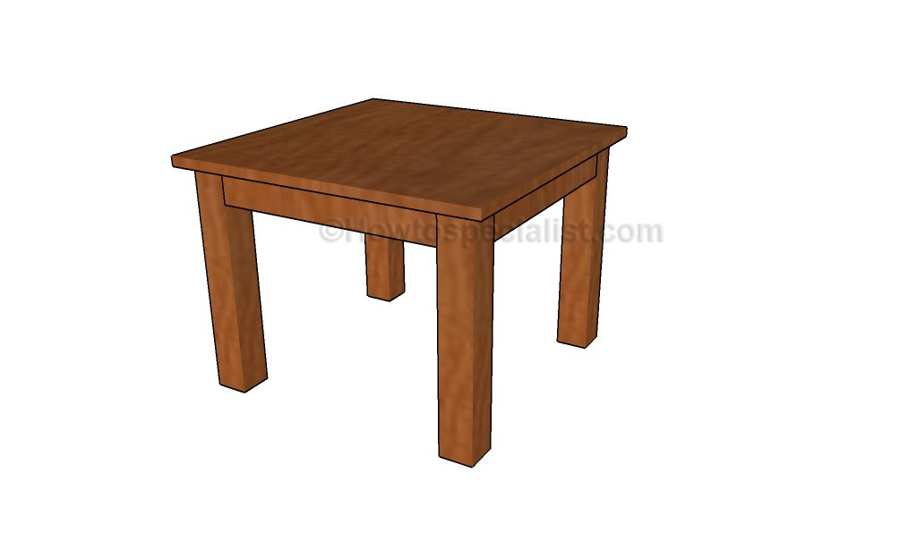 How to build a kids table