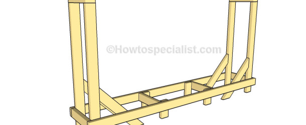 how to build wood rack