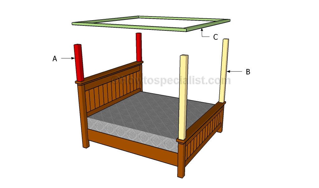 Great Building a bed canopy
