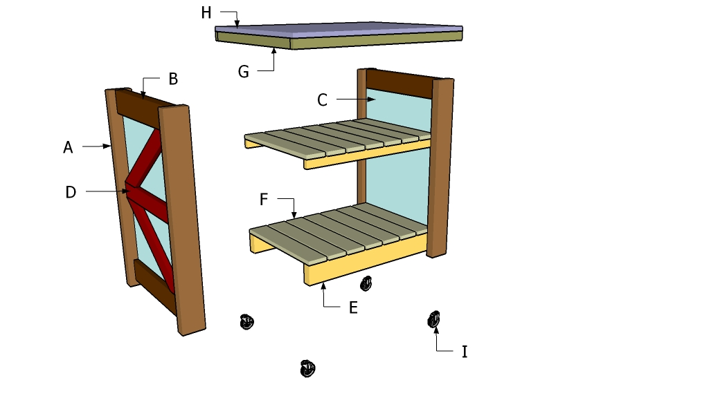 How To Build A Small Kitchen Island Howtospecialist How To Build Step By Step Diy Plans