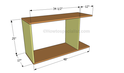 Office desk plans | HowToSpecialist - How to Build, Step by Step DIY