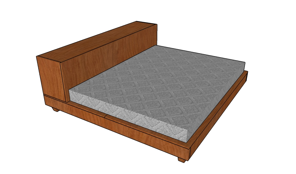 Platform storage bed plans | HowToSpecialist - How to Build, Step by ...