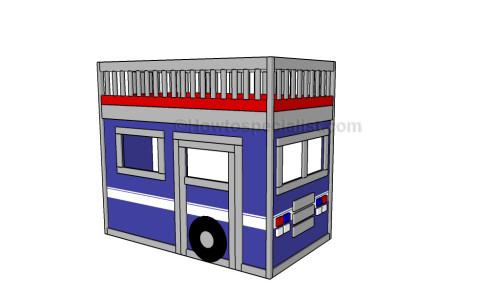 Truck loft bed plans