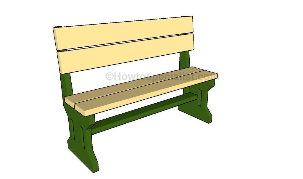 Patio Bench Plans How to build a corner bench How to build a bench