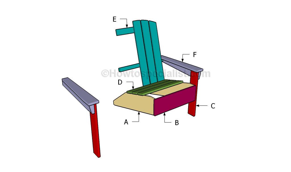 Buiding an adirondack chair