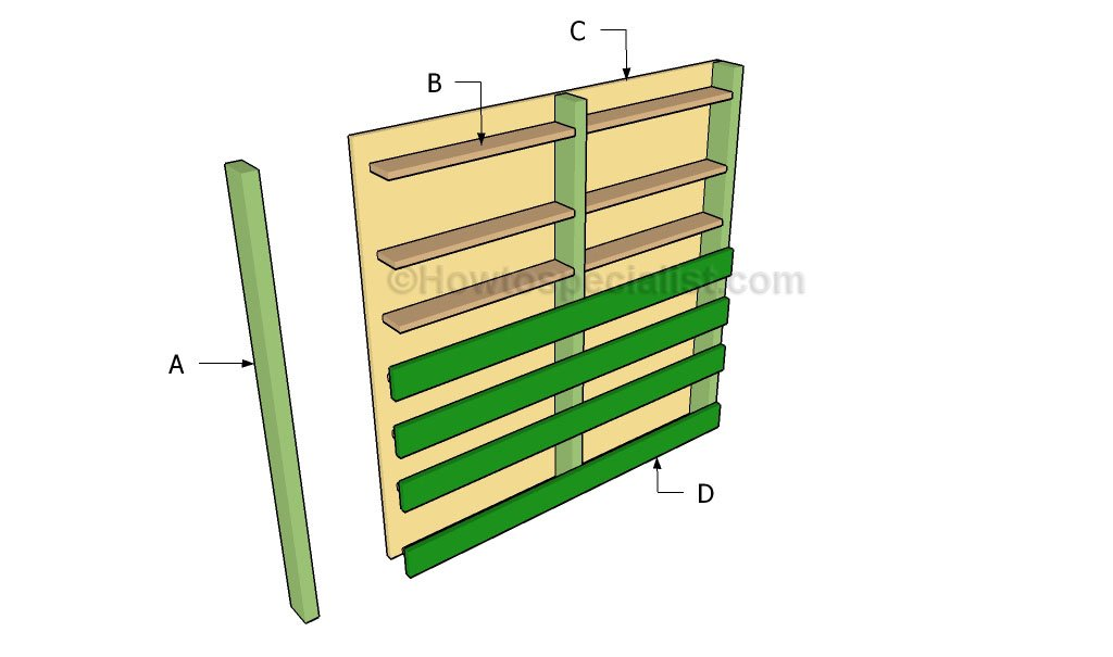 how to build a vertical planter