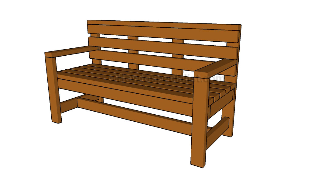 DIY Outdoor Sectional Sofa Plans as well Outdoor Bench Plans further ...