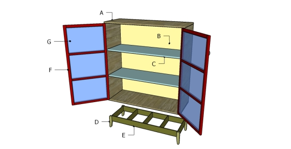 Pantry Cabinet Plans. Building A Pantry