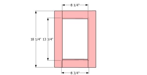 Building the frame of door