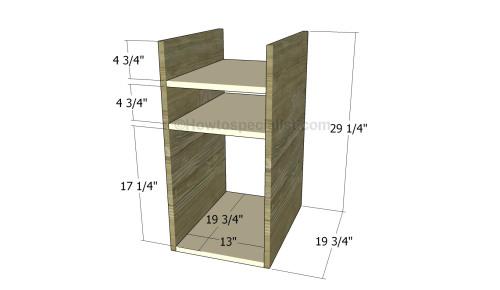 Building the storage unit