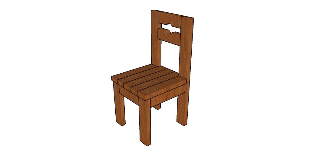 Farmhouse chair plans