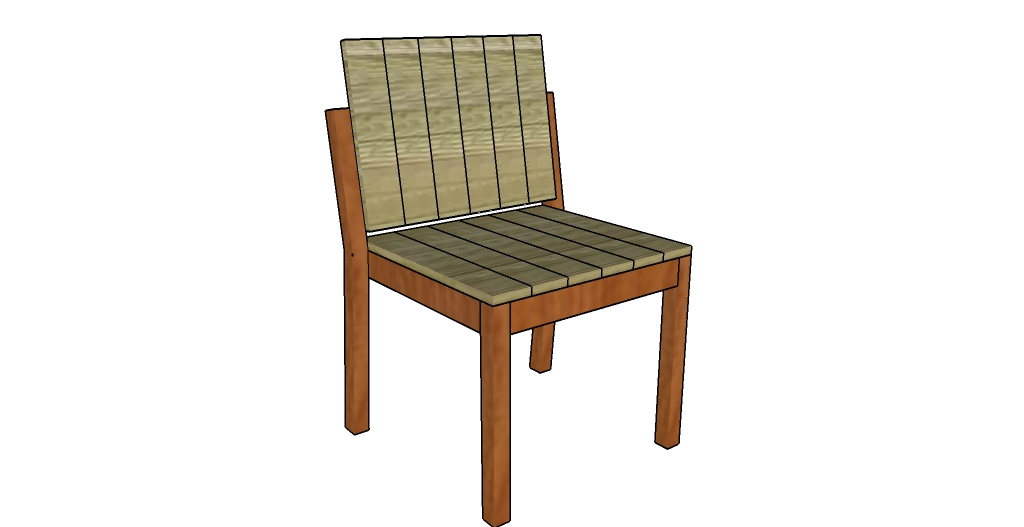 How to build a garden chair