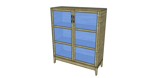 Pantry cabinet plans