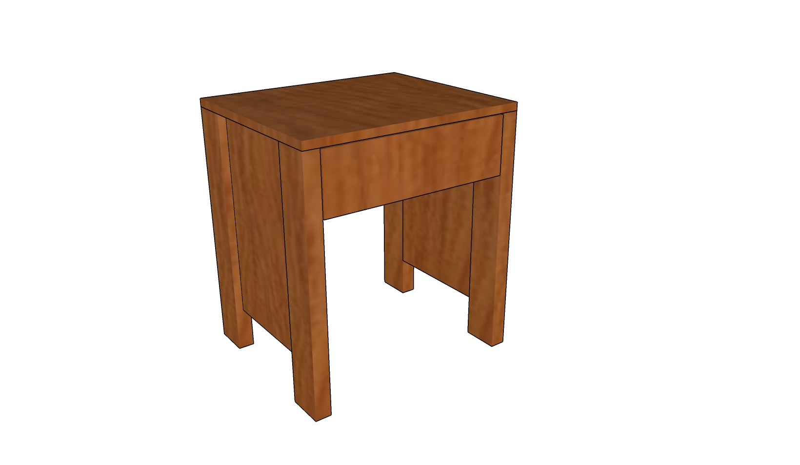 ... bedside table How to build a bedside table How to build a coffee table