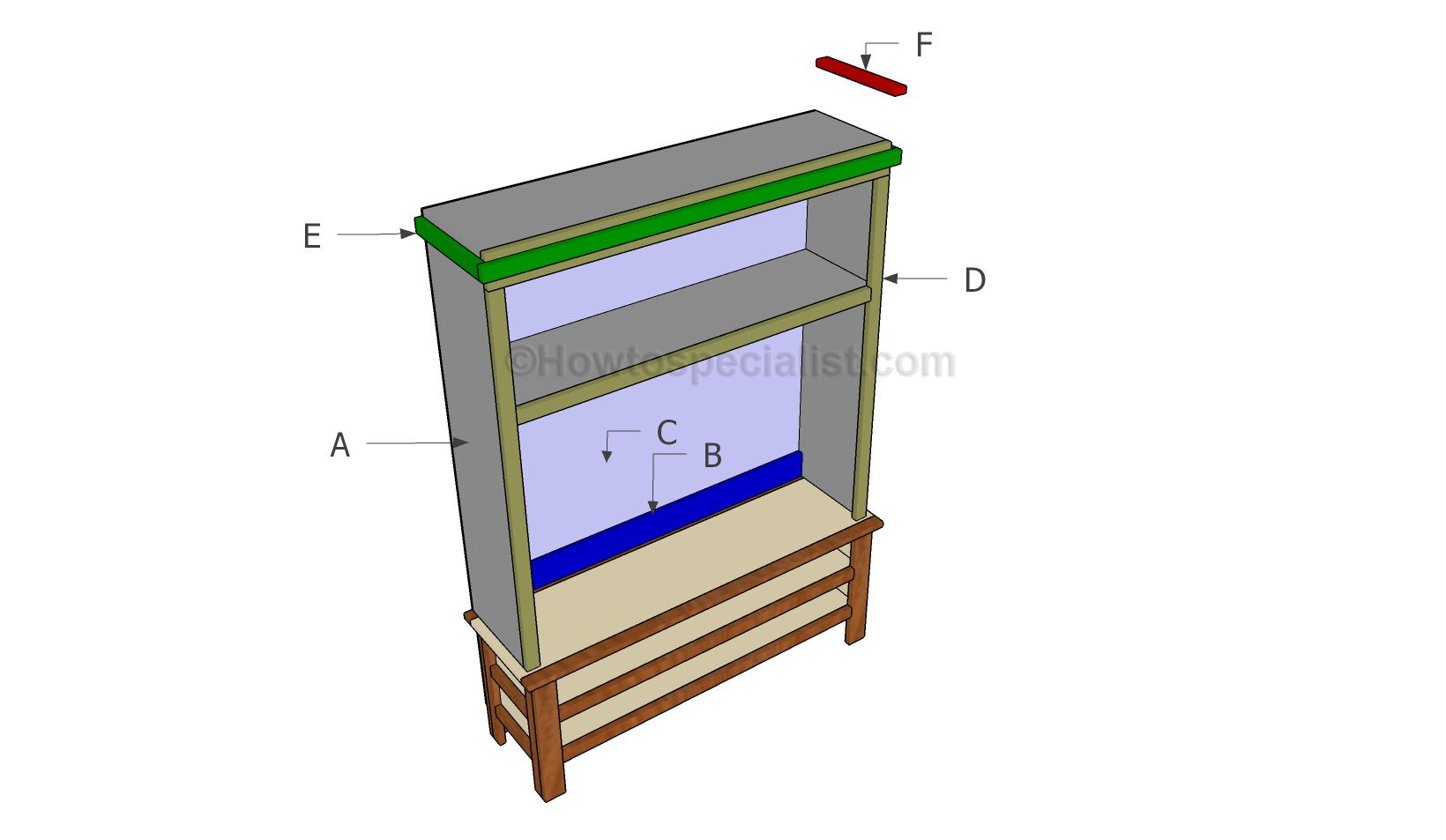 Building a console hutch