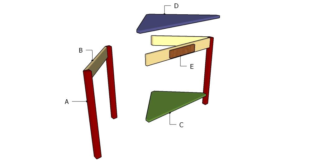 Building a corner table