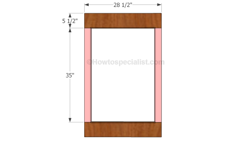 wooden mirror plans vanity mirror plans howtospecialist how to build step by step