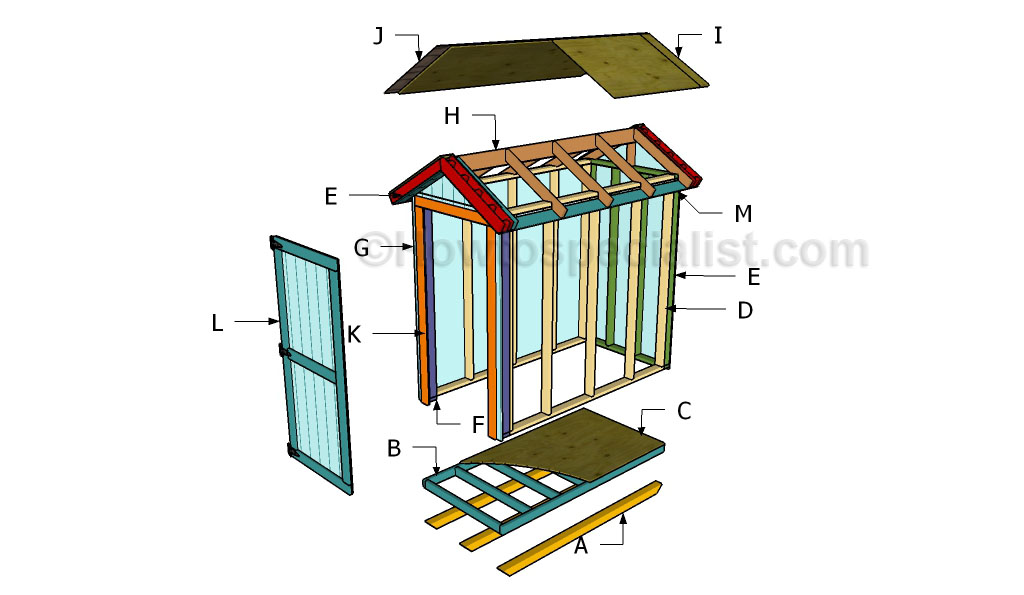 How To Build A Garden Shed Howtospecialist How To