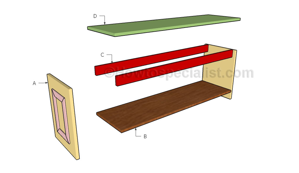 Building a hall bench