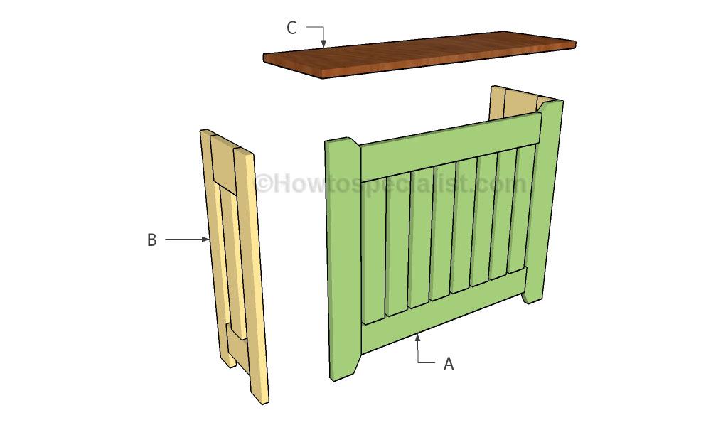 Building a radiator cover