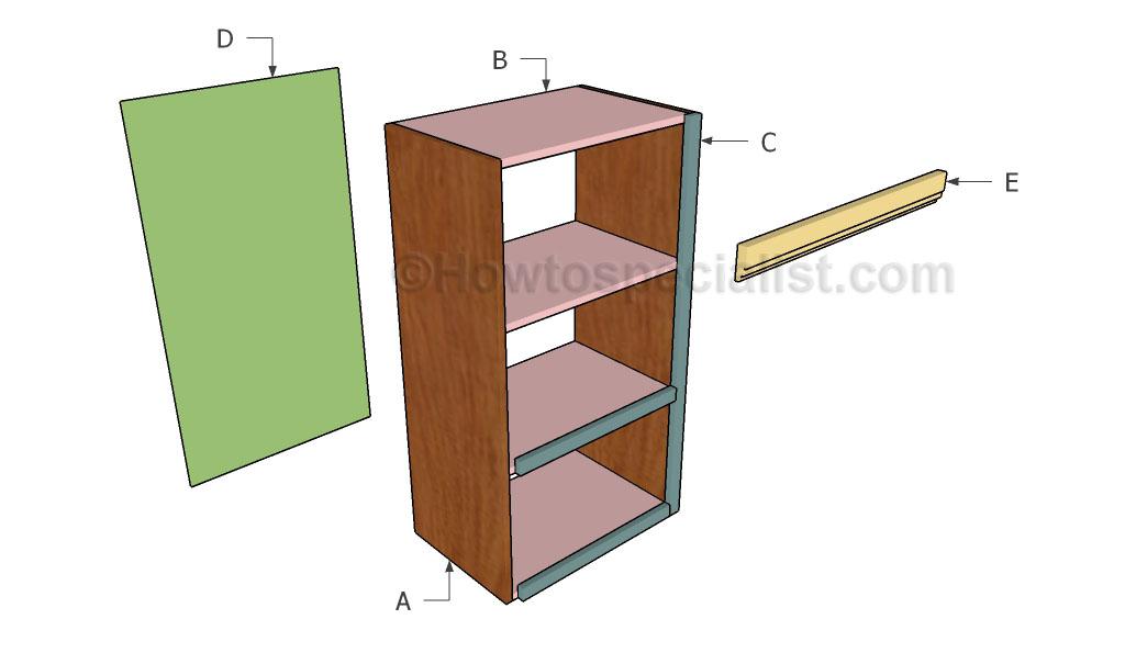 Storage unit plans howtospecialist how to build step for Storage unit building plans