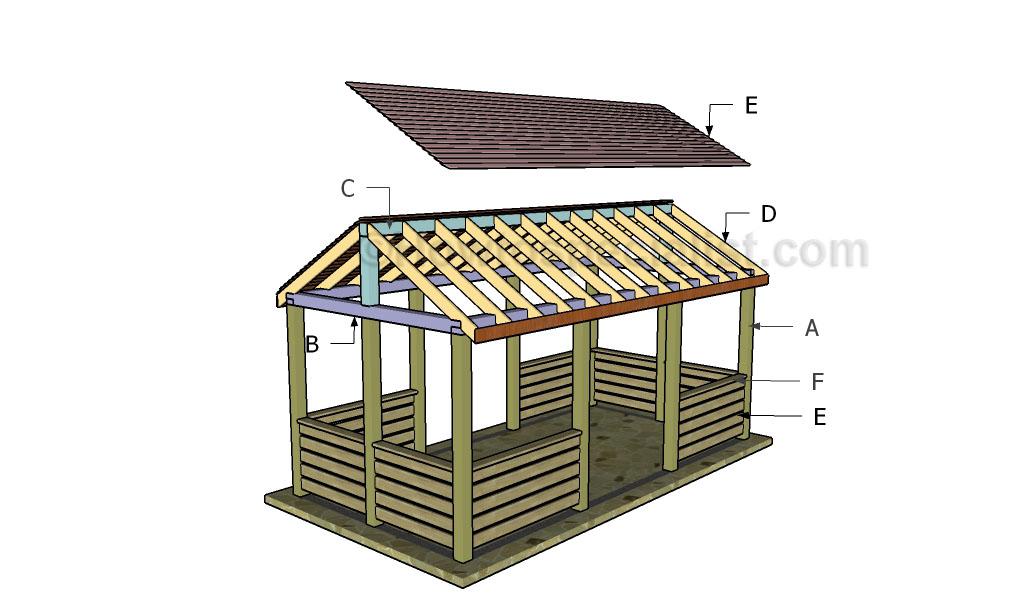 Inspiring pavilion construction plans 17 photo for Outdoor pavilion plans