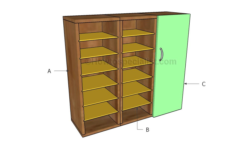 Garage cabinets plans | HowToSpecialist - How to Build, Step by ...