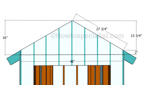 how to build gable ends