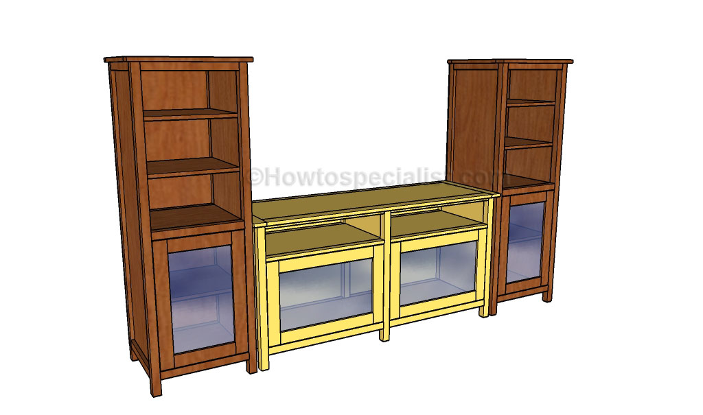 Entertainment center plans