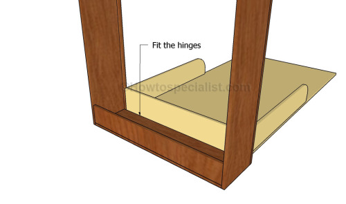 Fit the bed frame