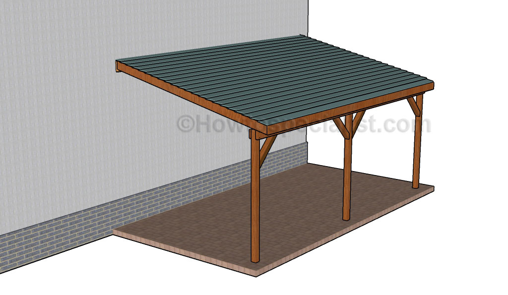 How to build an attached carport