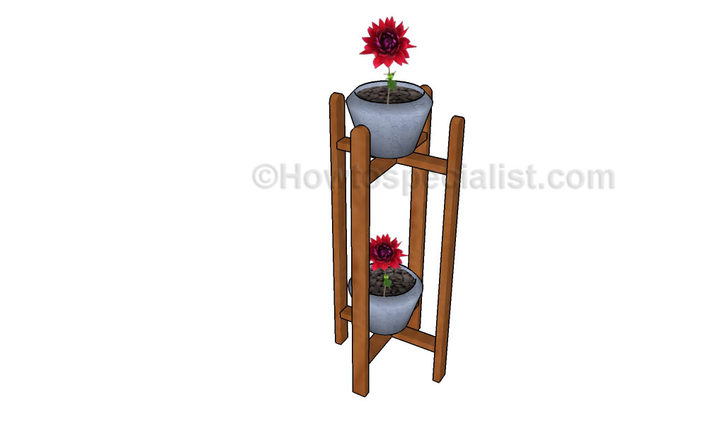 How to build an indoor plant stand