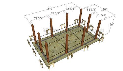 Outdoor pavilion plans   HowToSpecialist - How to Build ...