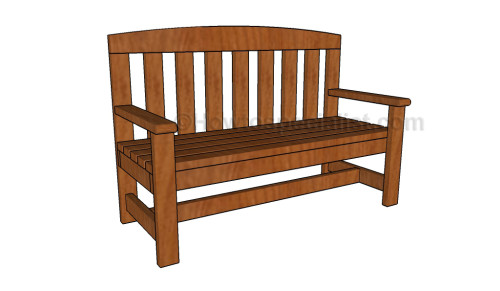 2x4 bench plans | HowToSpecialist - How to Build, Step by ...