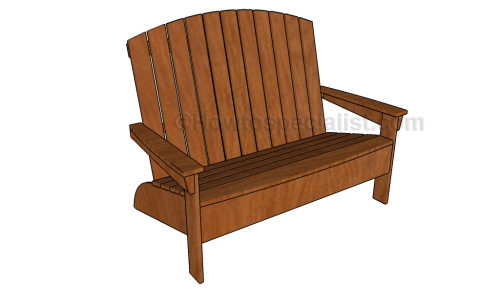 Adirondack bench plans