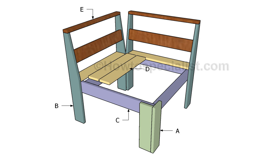 Building a corner sectional