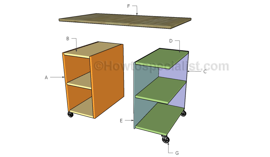 Plans To Build Loft Bed With Desk, This... - Amazing Wood Plans