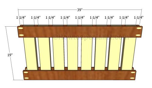 Building the foorboard panel