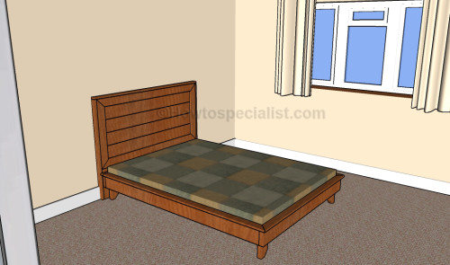 Luxury Full size platform bed frame plans