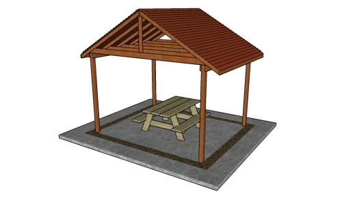Picnic Shelter Plans Howtospecialist How To Build
