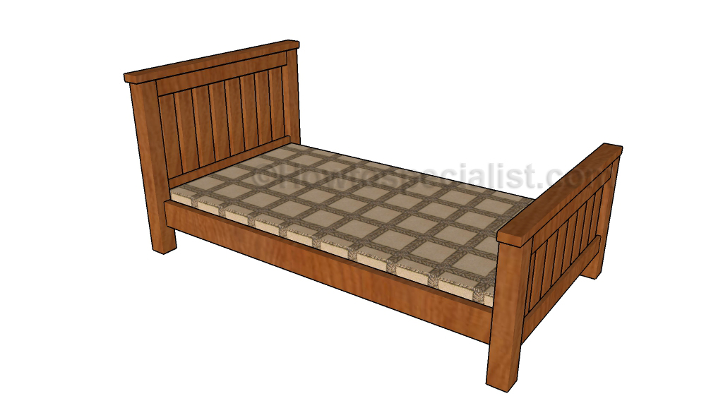 Single Bed Plans