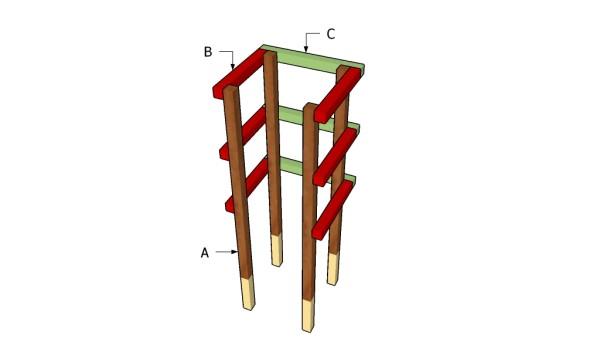 Building a tomato cage